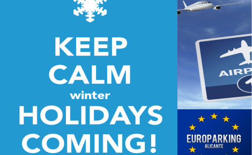 Enjoy your winter holidays at home & leave your car with us!