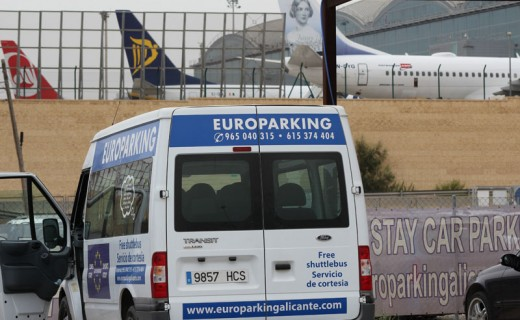 Another day at Europarking Alicante Airport